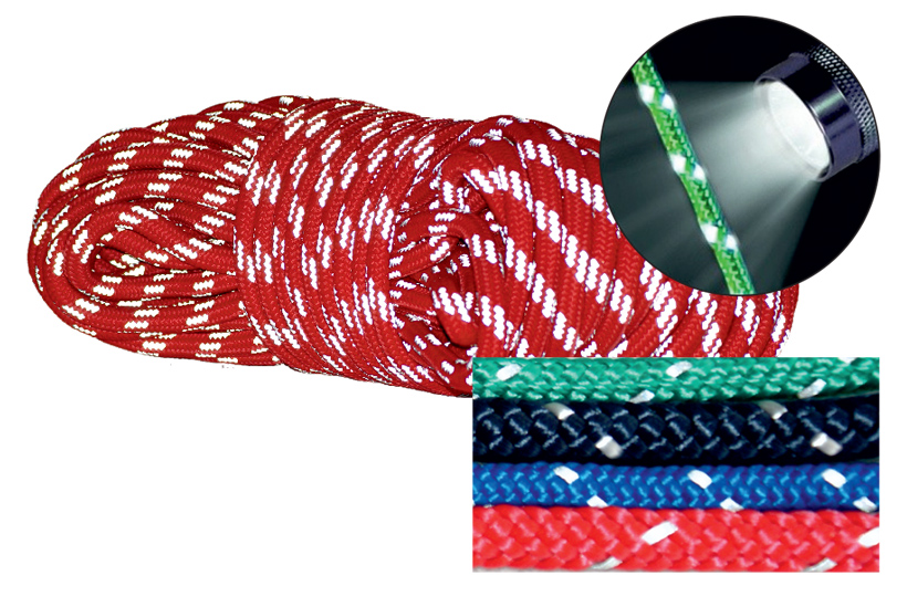 Reflective Braided Lines