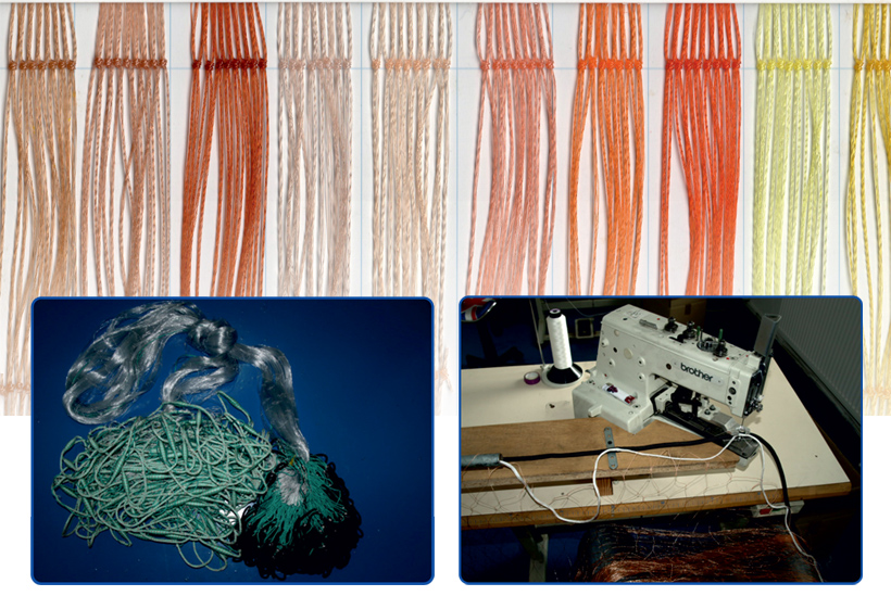 RIGGING FISHING NETS